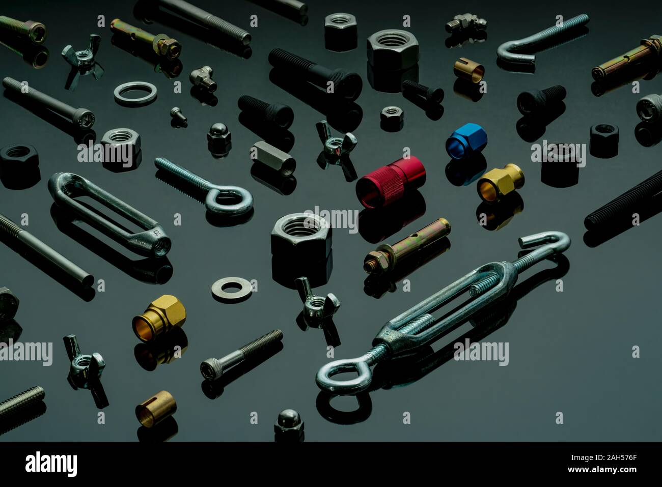 Screws Head Nut Bolt And Washer High Resolution Stock Photography And Images Alamy