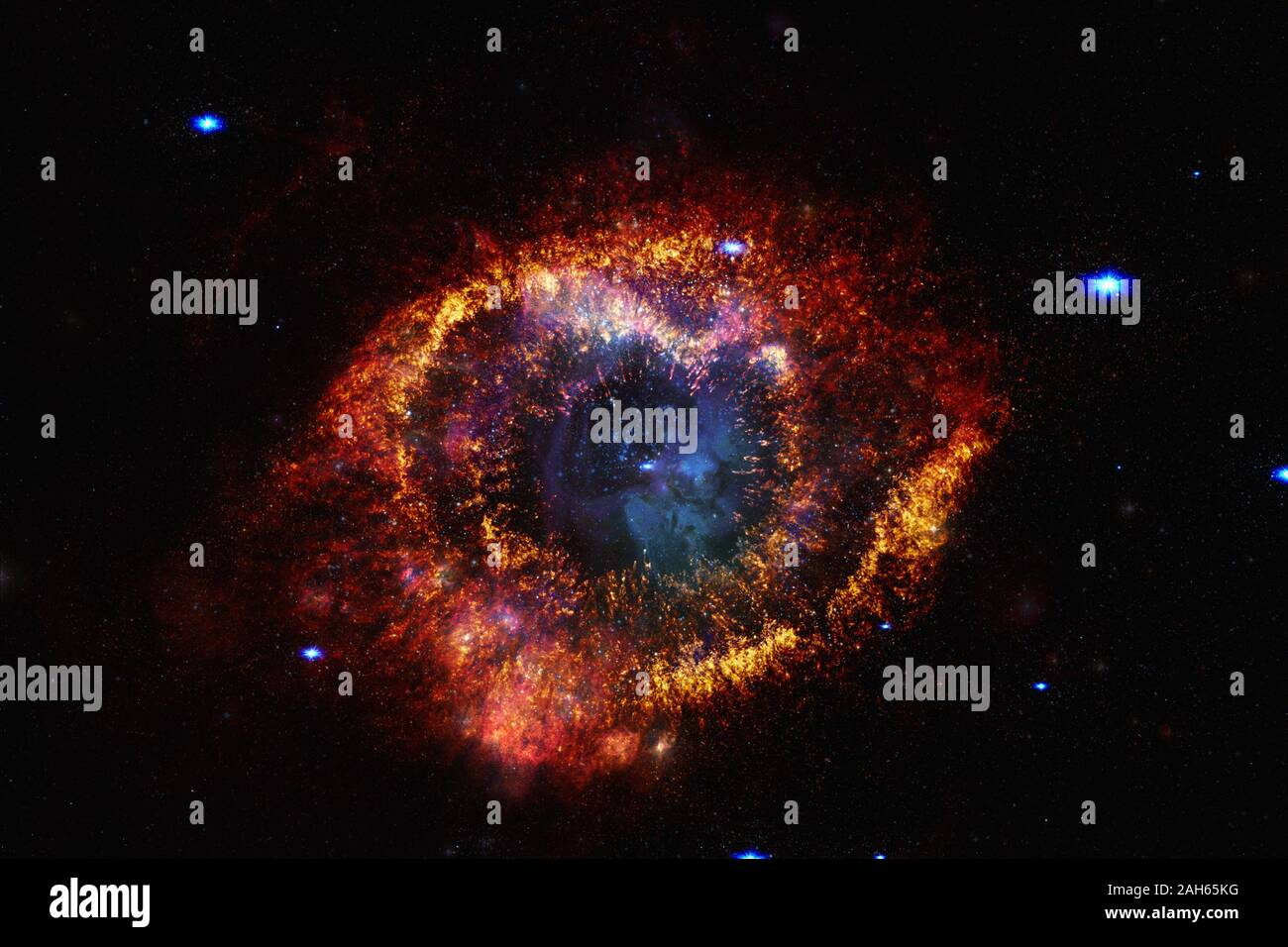 galaxy in outer space beautiful science fiction wallpaper elements of this image furnished by nasa 2AH65KG