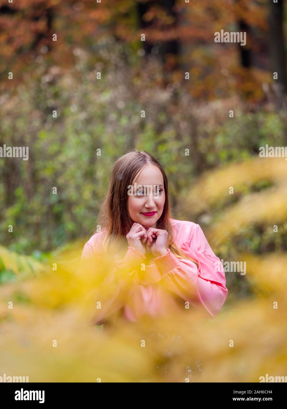 Country-girl countrygirl in countryside portrait isolated Stock Photo