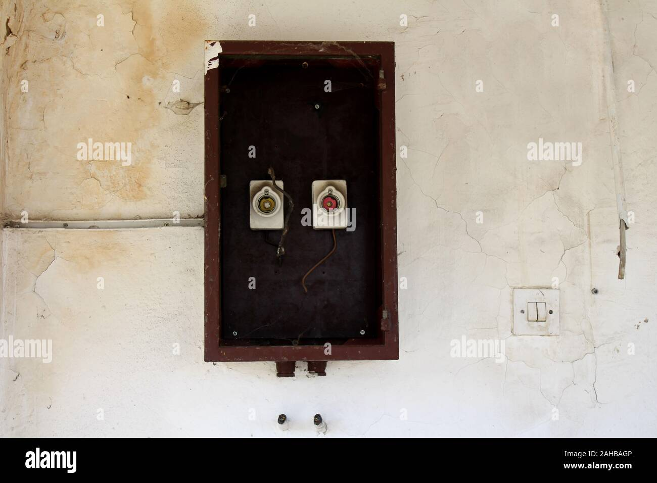 [DIAGRAM_1CA]  Old Fuses Fuse Box High Resolution Stock Photography and Images - Alamy | Outside Fuse Box Fuses Missing |  | Alamy