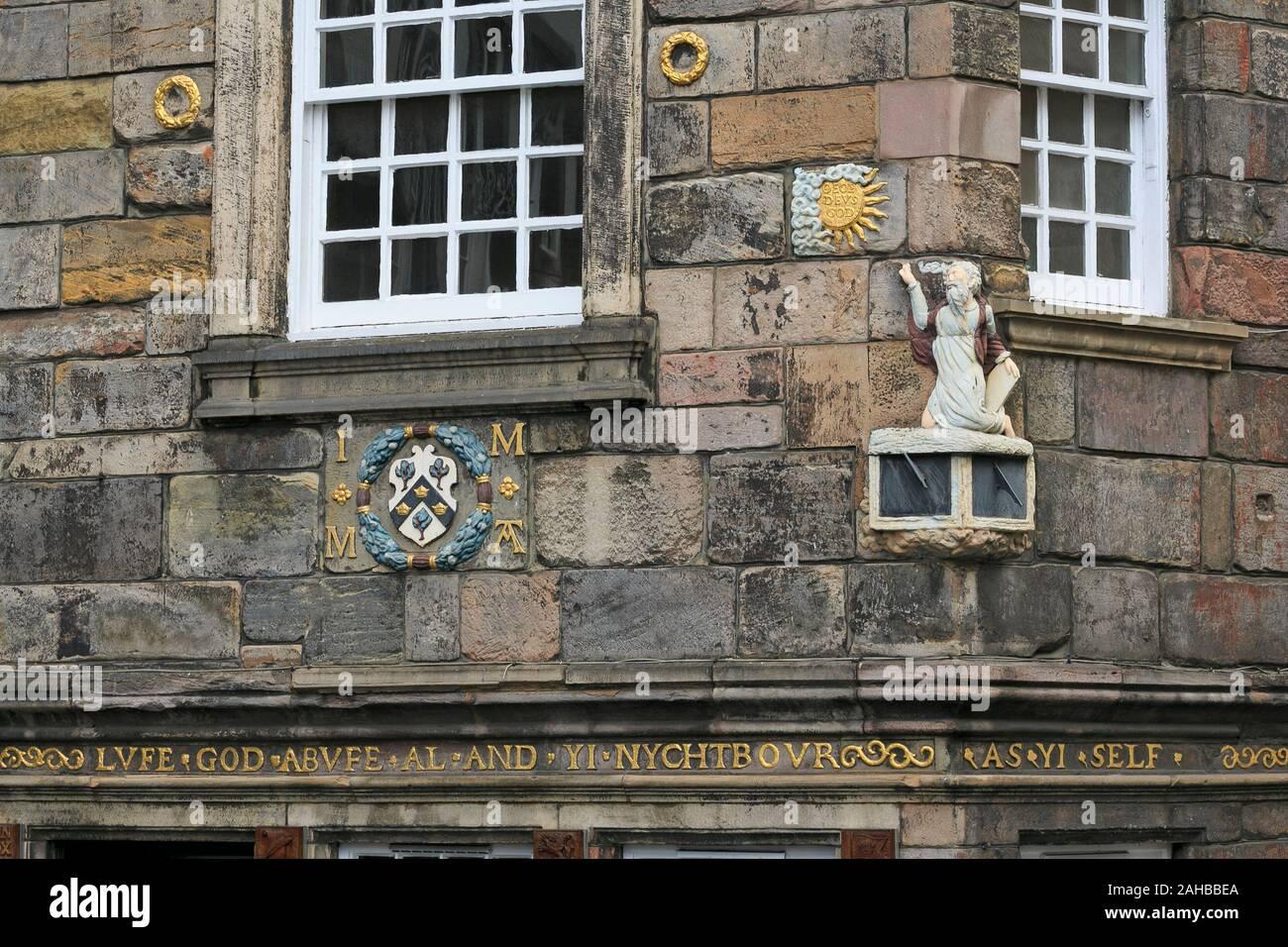 John Knox House, The Royal Mile, The Old Town, Edinburgh, Scotland, United Kingdom Stock Photo
