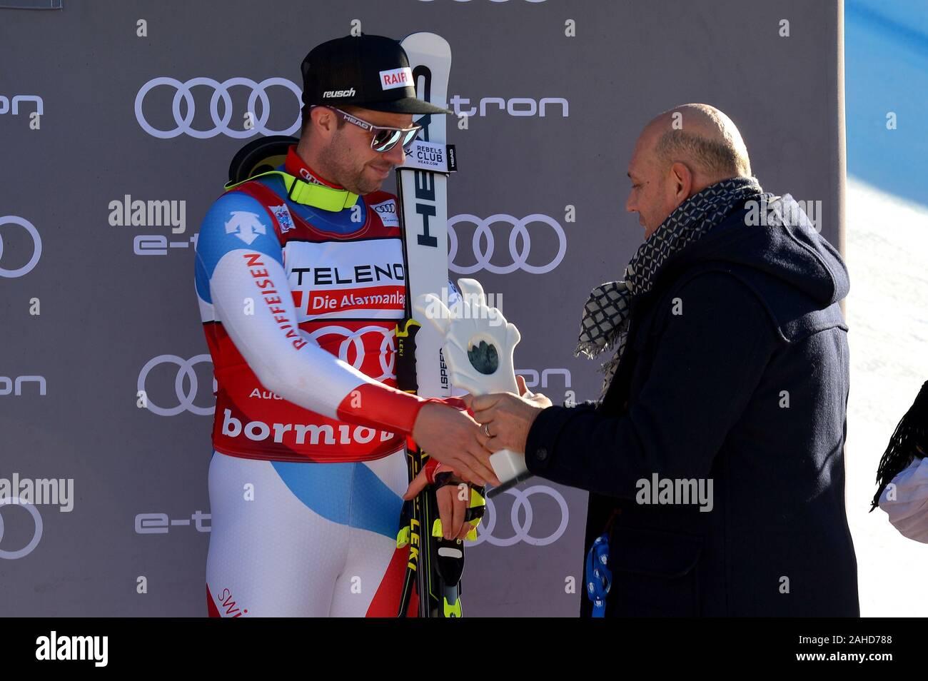 Bormio, Italy. 28th Dec, 2019. beat feuzduring AUDI FIS World Cup 2019 - Men's Downhill, Ski in Bormio, Italy, December 28 2019 - LPS/Giorgio Panacci Credit: Giorgio Panacci/LPS/ZUMA Wire/Alamy Live News Stock Photo