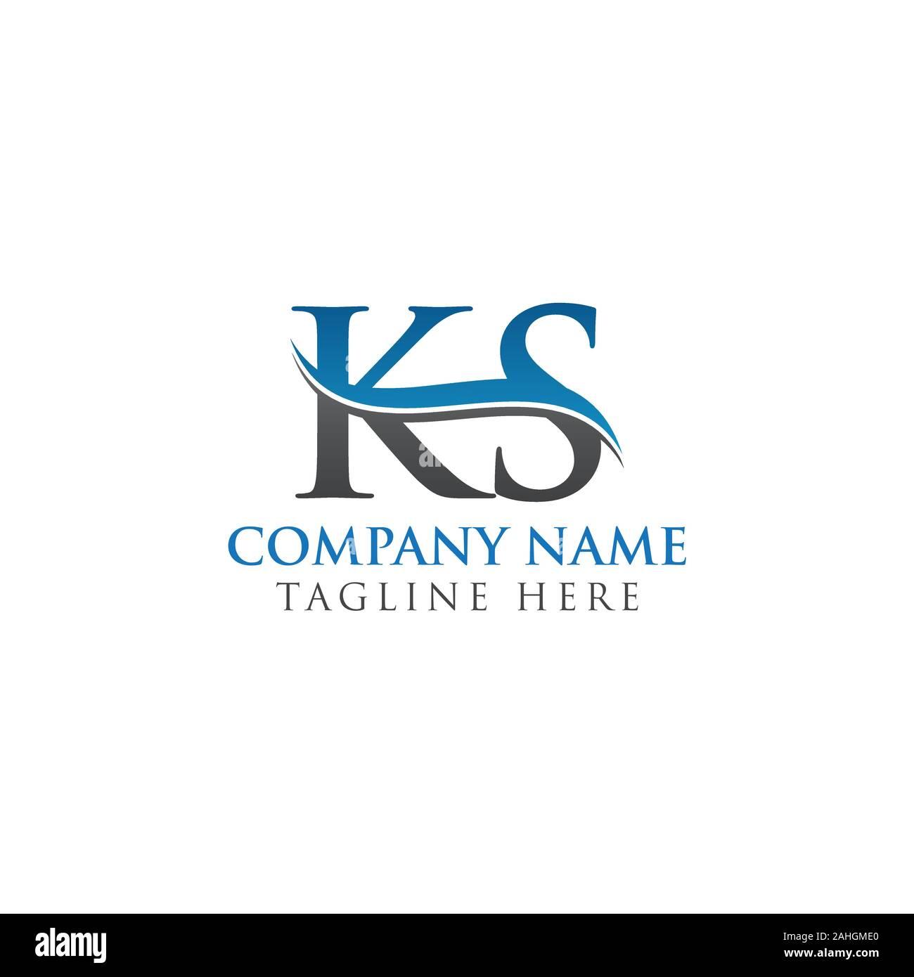 Initial Ks Letter Logo Design Vector Template Abstract Letter Ks Logo Design Stock Vector Image Art Alamy