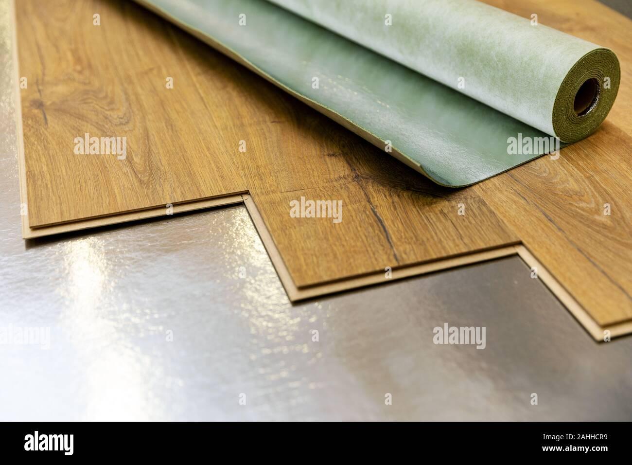 Laminate Floor Underlay Stock Photos Laminate Floor Underlay