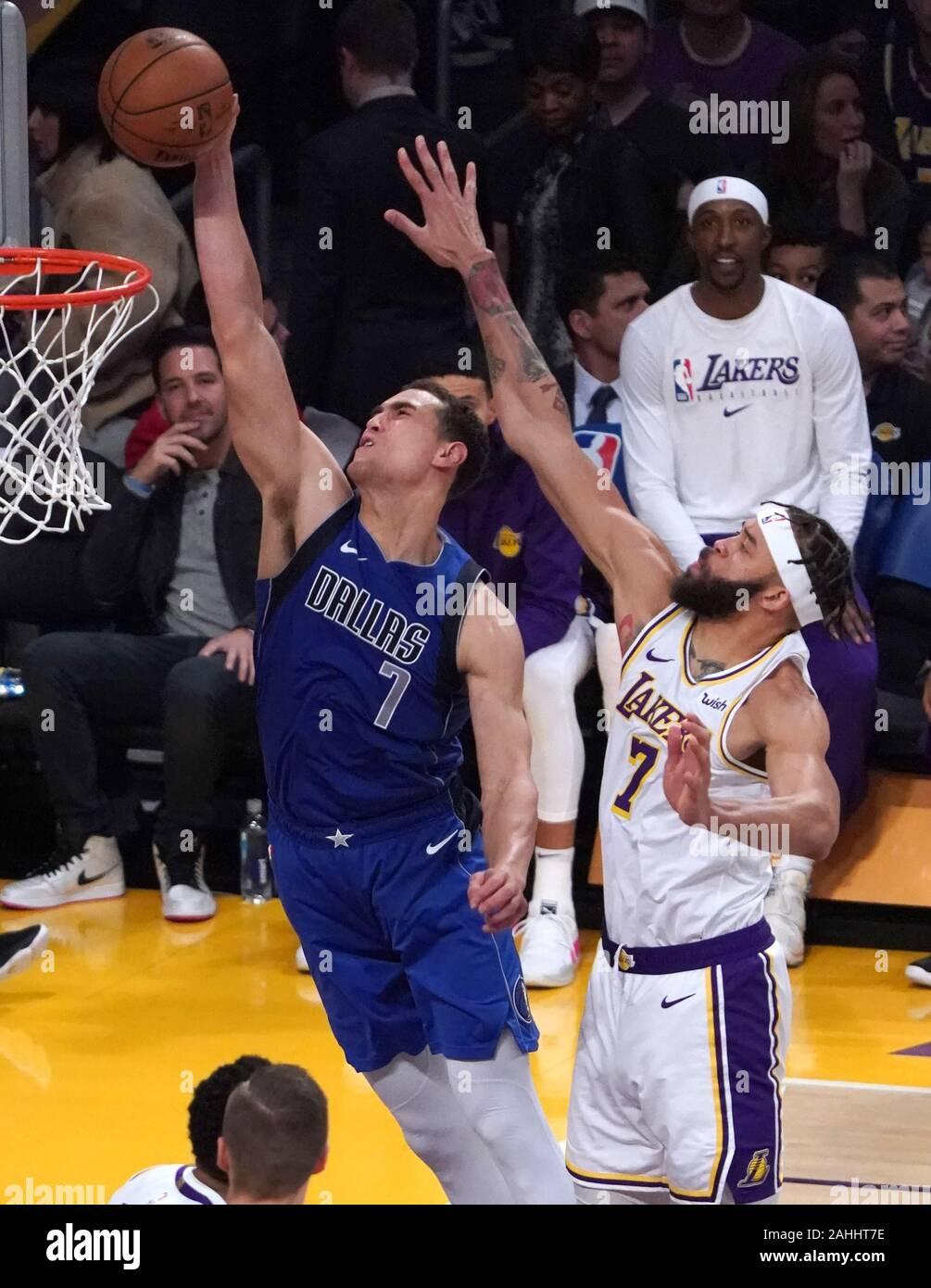 Los Angeles United States 29th Dec 2019 Dallas Mavericks