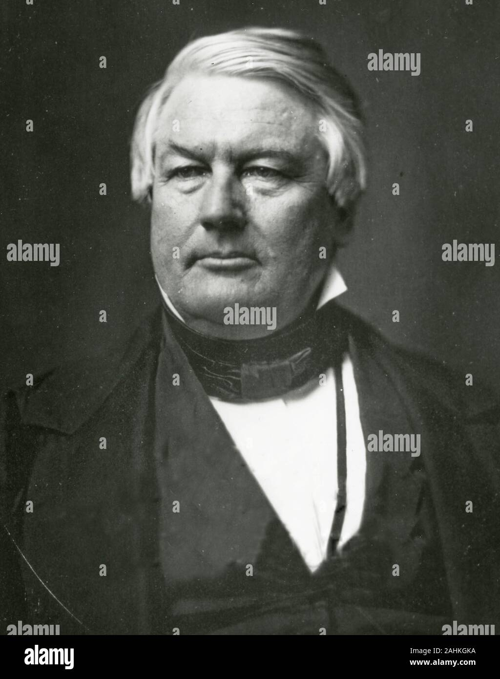Millard Fillmore (January 7, 1800 – March 8, 1874) was the 13th president of the United States (1850–1853), the last to be a member of the Whig Party while in the White House. Stock Photo