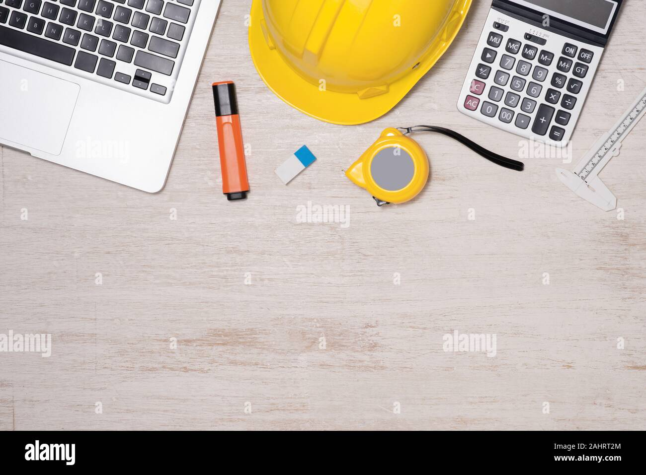 Engineer Desk Background Project Ideas Concept Stock Photo Alamy
