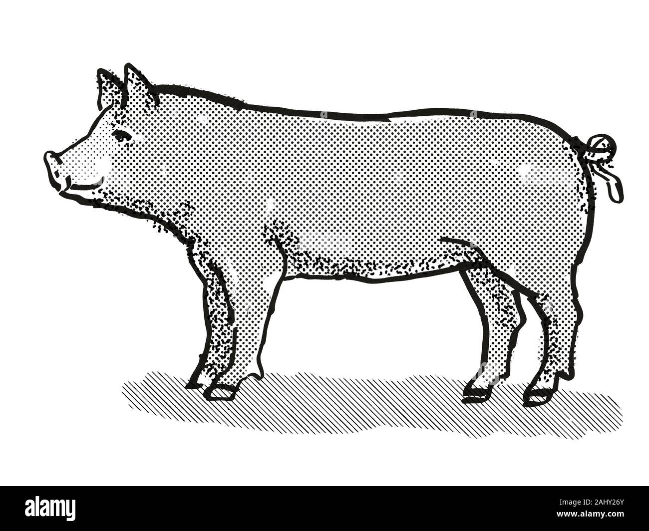 Pig Silhouette, Pig Clipart, Animal Clipart, Animal Sketch PNG and Vector  with Transparent Background for Free Download | Pig silhouette, Pig clipart,  Animal clipart