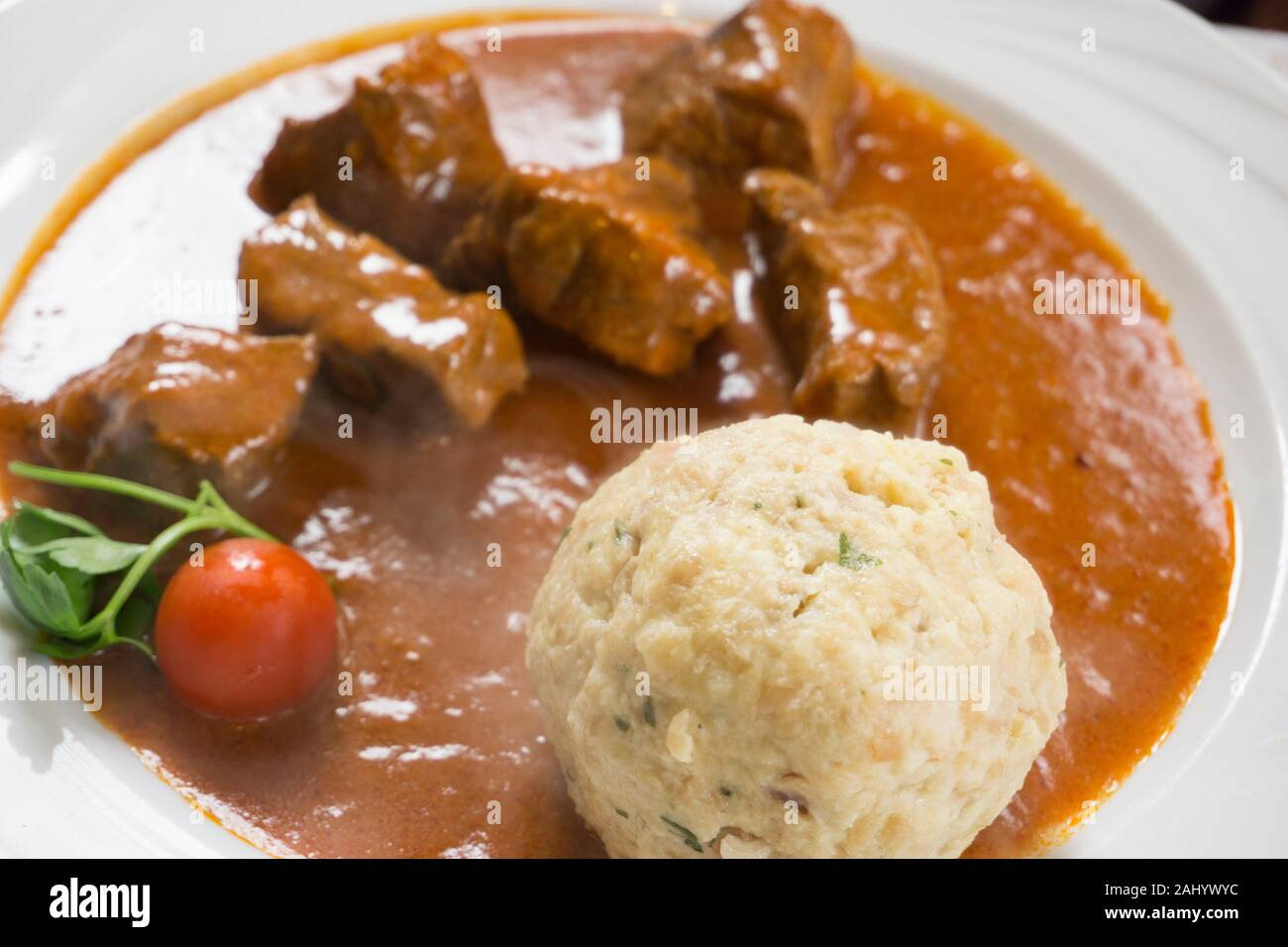 Hungary Goulash Dumpling High Resolution Stock Photography And Images Alamy