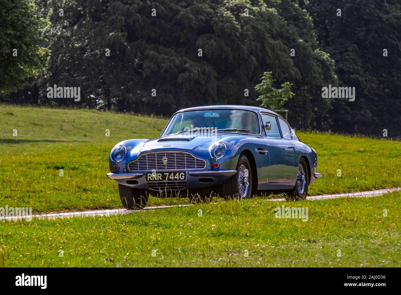 1969 Blue Aston Martin Db6 Classic Cars Historics Cherished Old Timers Collectable Restored Vintage Veteran Vehicles