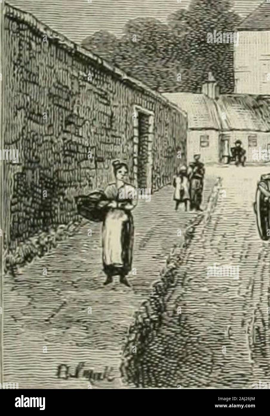 Cassell's Old and new Edinburgh: its history, its people, and its places . - -^, ., v-.: ,,™ sa^- ,. Stock Photo