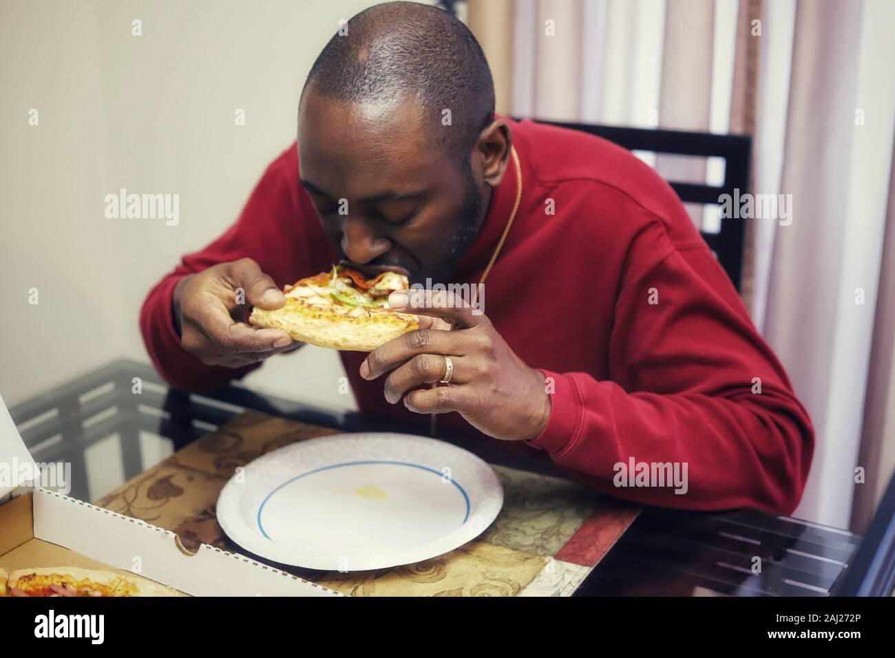 Pizza Delivery Man Stock Photos Pizza Delivery Man Stock