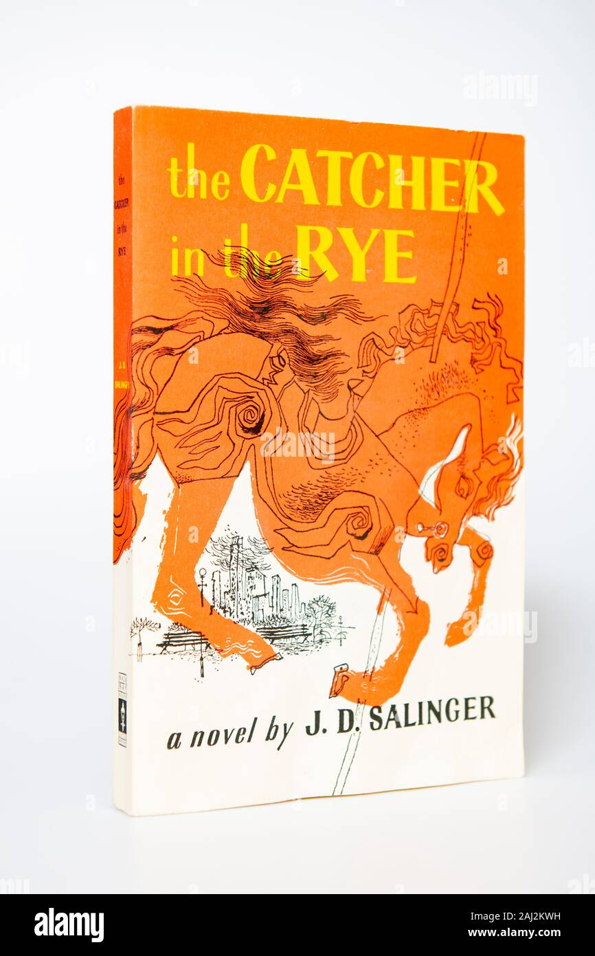 Catcher in the Rye - Author Salinger Poster Limited Edition 13 x 19 In J.D