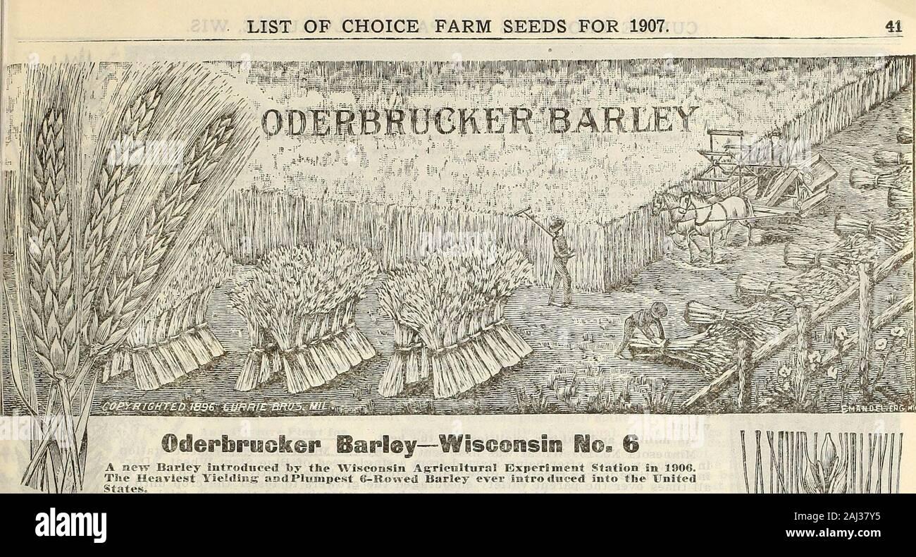 Farm And Garden Annual Spring 1907 Speltz 01 I M Mk1 List Of Choice Farm Seeds