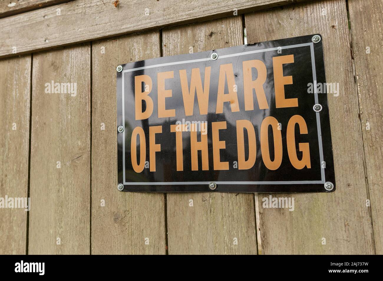 Jack Russell  Shut The Gate Beware of the Dog  Design Metal Door Sign