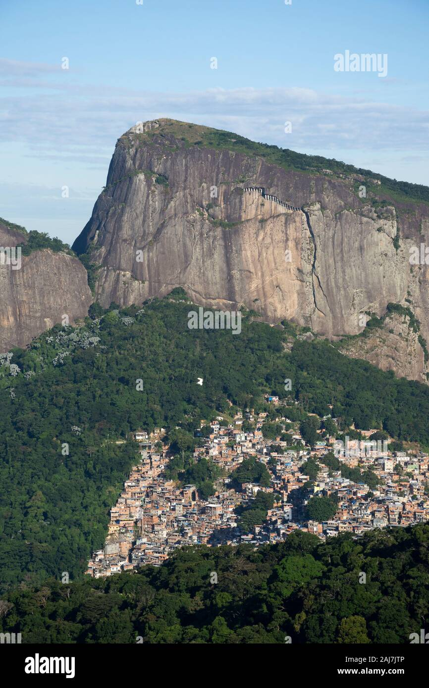 Vista Chinesa in Tijuca Park, Rio de Janeiro, Brazil Stock Photo