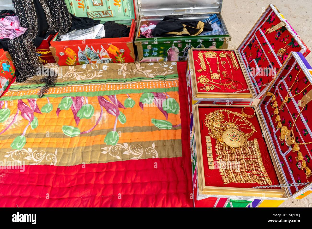 Traditional Arabian And Middle Eastern Items Vintage Arabic Home Decorations And Furniture Stock Photo Alamy