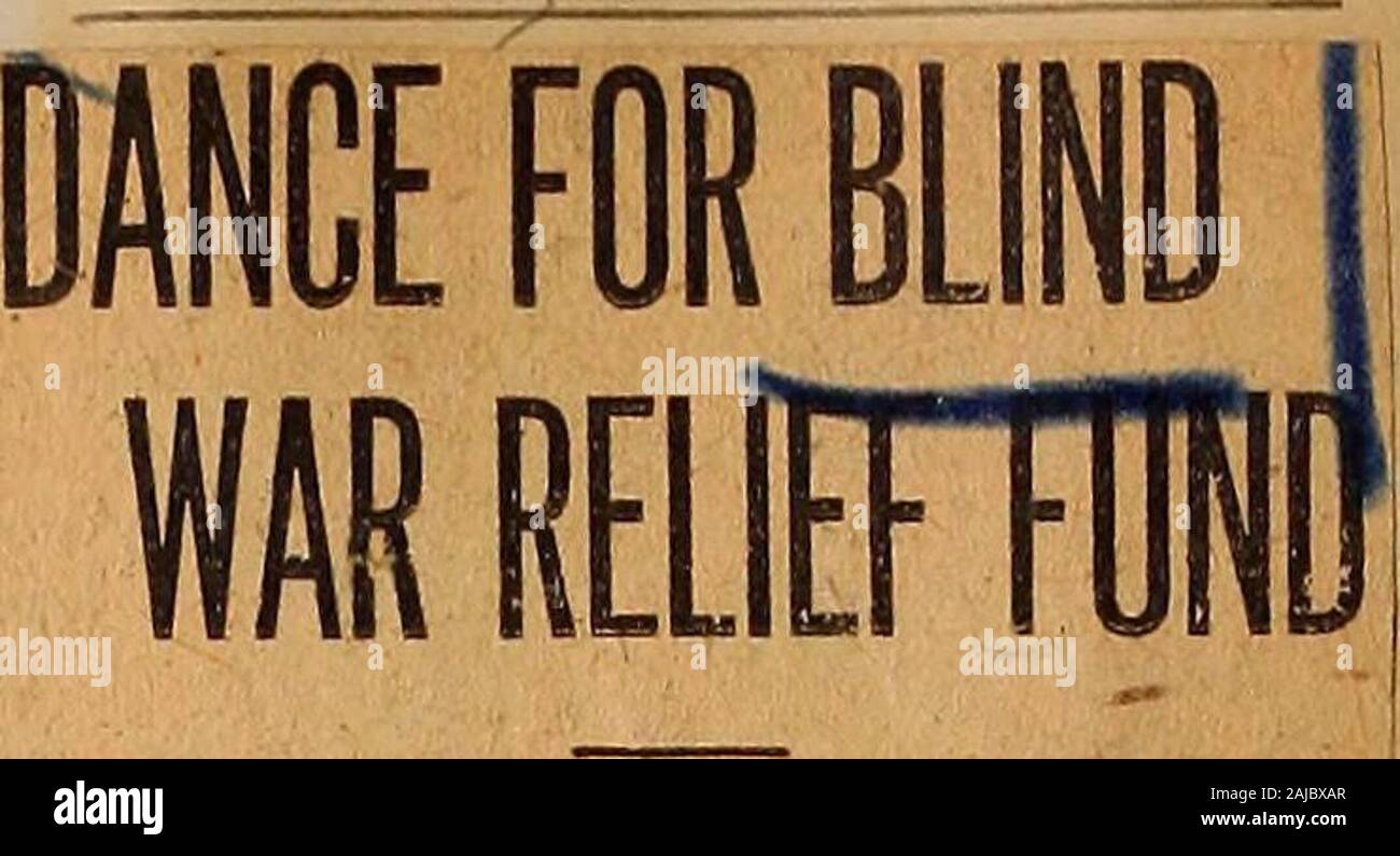 Perkins School for the Blind Bound Clippings: World War Blind ...