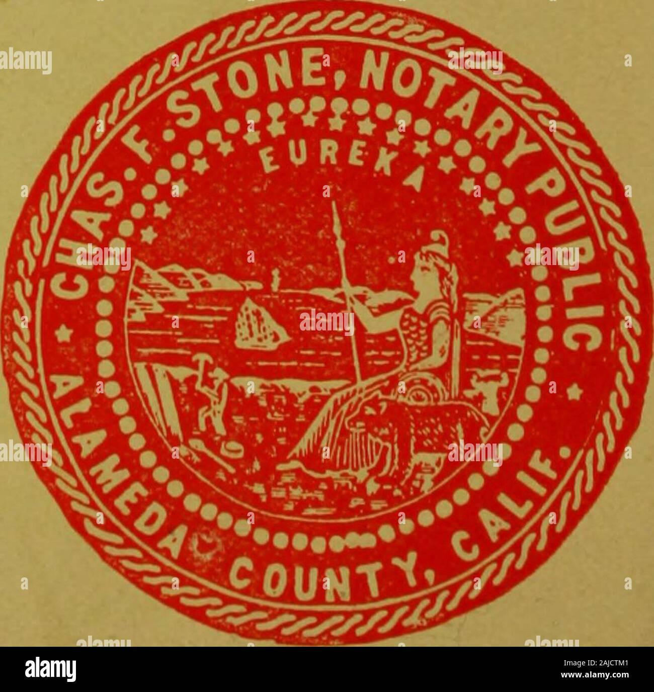 Polk-Husted Directory Co.'s Oakland, Berkeley and Alameda directory . OAKLANDSOPTICALCENTER Stock Photo