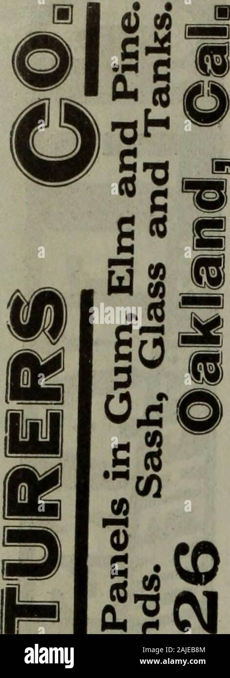 Polk-Husted Directory Co.'s Oakland, Berkeley and Alameda directory . Phone PIEDMONT 2SS4r. Stock Photo