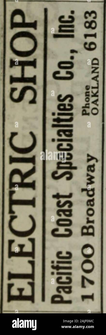 Polk-Husted Directory Co.'s Oakland, Berkeley and Alameda directory . a ma ^ c0 CO C w ^ ao KODAKS Developing and Printing BoAvman Drug Co 306 1915 POIiK-HUSTED CO.S. First Christian Church Rev Vaughn Dab- ney pastor Grand av cor WebsterFirst Church of Christ Scientist and Reading Room 17th and FranklinFirst Congregational Church Rev F J Van Horn pastor 12th cor ClayFirst Danish-Norwegian Baptist Church Rev J A Jensen pastor w s 25th av nr E 14thFirst Divine Science Church Rev Helen E Close pastor Starr King Hall 14th cor CastroFirst English Evangelical Lutheran Church Rev E G Lund pastor 16th Stock Photo