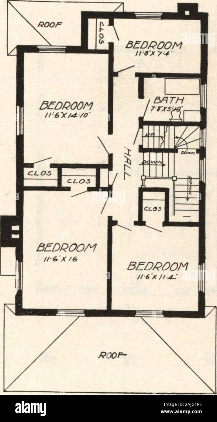 Cement Houses And How To Build Them First Floor Plan Design No 8358 Size Width 25 Feet 4 Inches Length 40 Feet 8 Inches Blue Prints Consist Of Cellar Andfoundation Plan