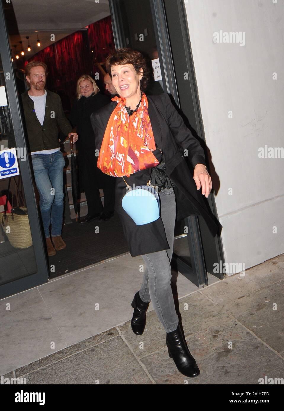 Helen Mccrory Leaving