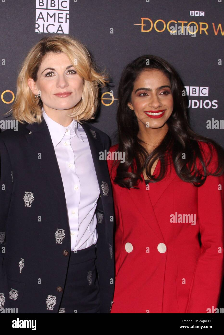 Bbc America Doctor Who Christmas Special 2020 New York, NY, USA. 5th Jan, 2020. Jodie Whittaker and Mandip Gill