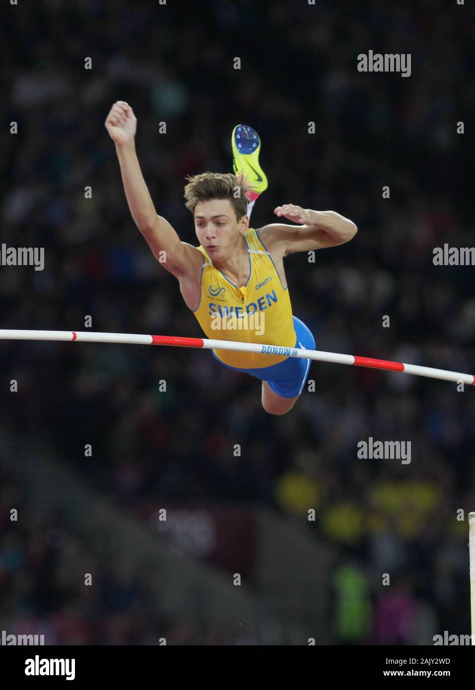 Armand Duplantis Sweden during the Final Pole Vault Men of the ...
