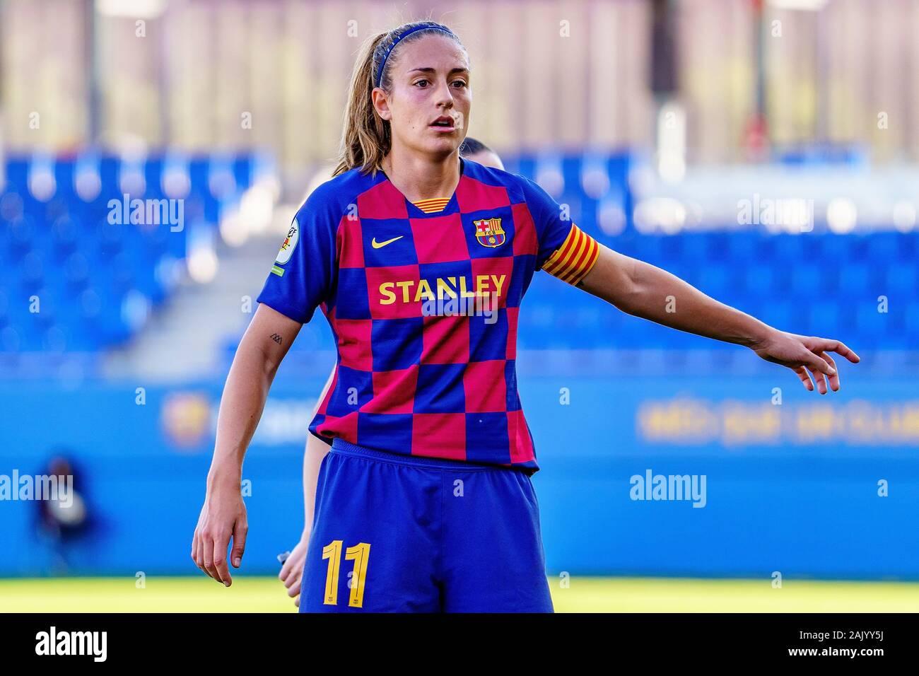 Barcelona Dec 21 Alexia Putellas Plays At The Spanish Women League Match Between Fc Barcelona Feminine And Tenerife At The Johan Cruyff Stadium On Stock Photo Alamy