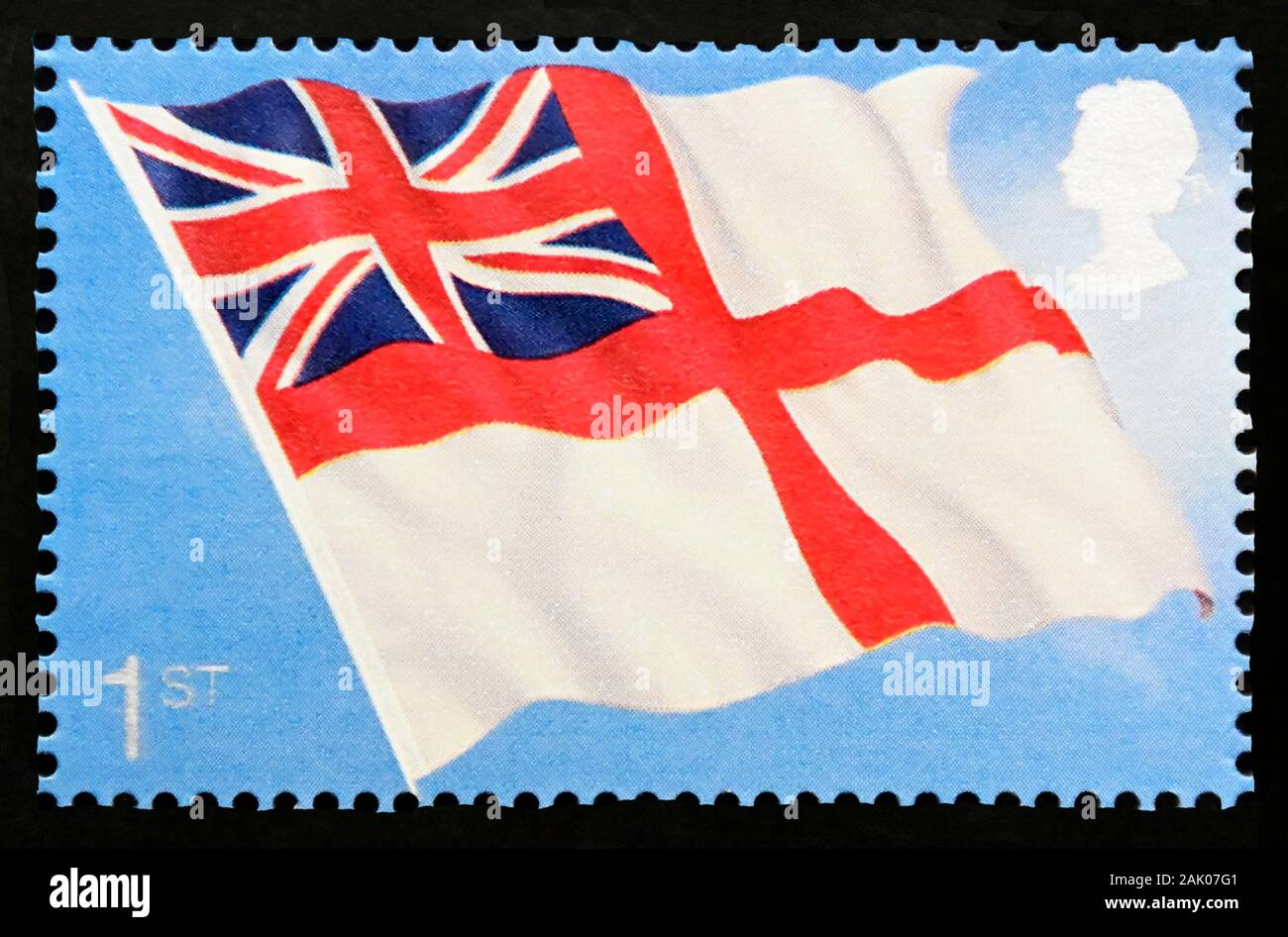 2005 The White Ensign Stamp Sheet 20 x 1st Class
