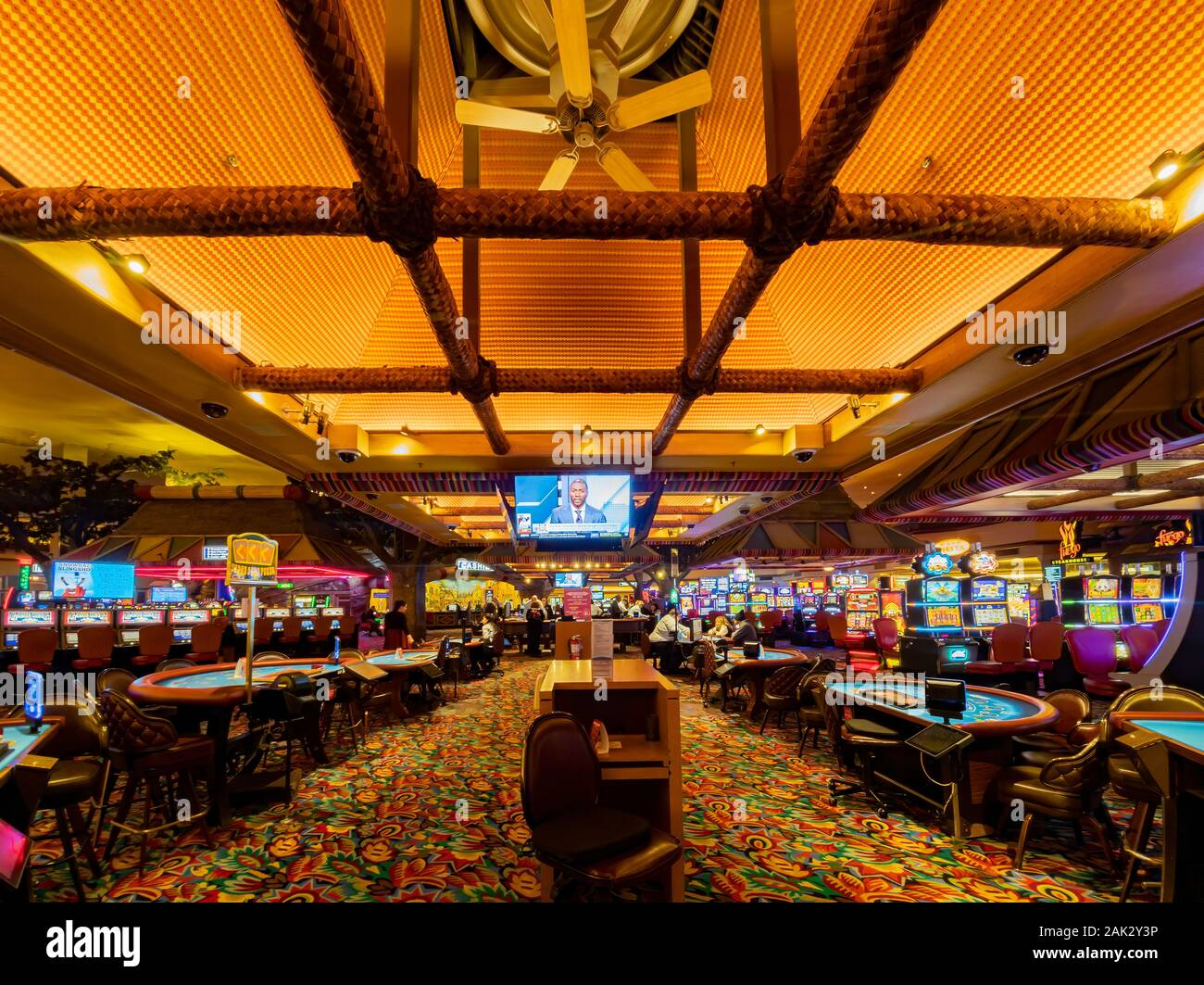 Las Vegas Jan 6 Interior View Of The Famous Fiesta Henderson