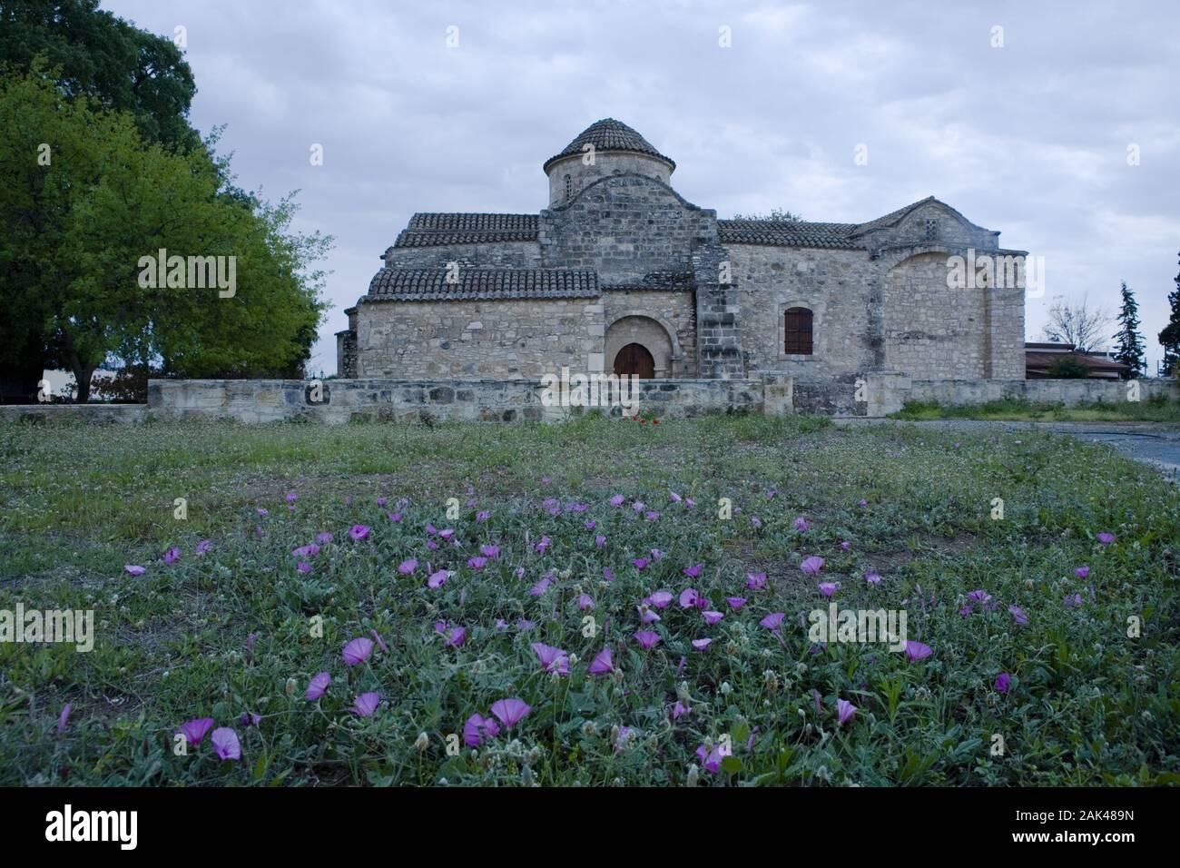 Kirche Panagía Angelóktistos in Kíti, Zypern | usage worldwide Stock Photo