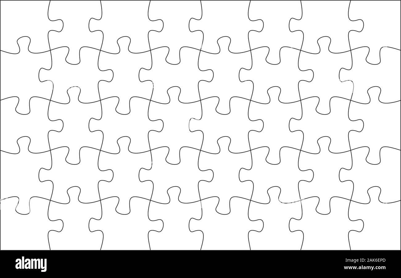 19 Printable Puzzle Piece Templates ᐅ Templatelab 10