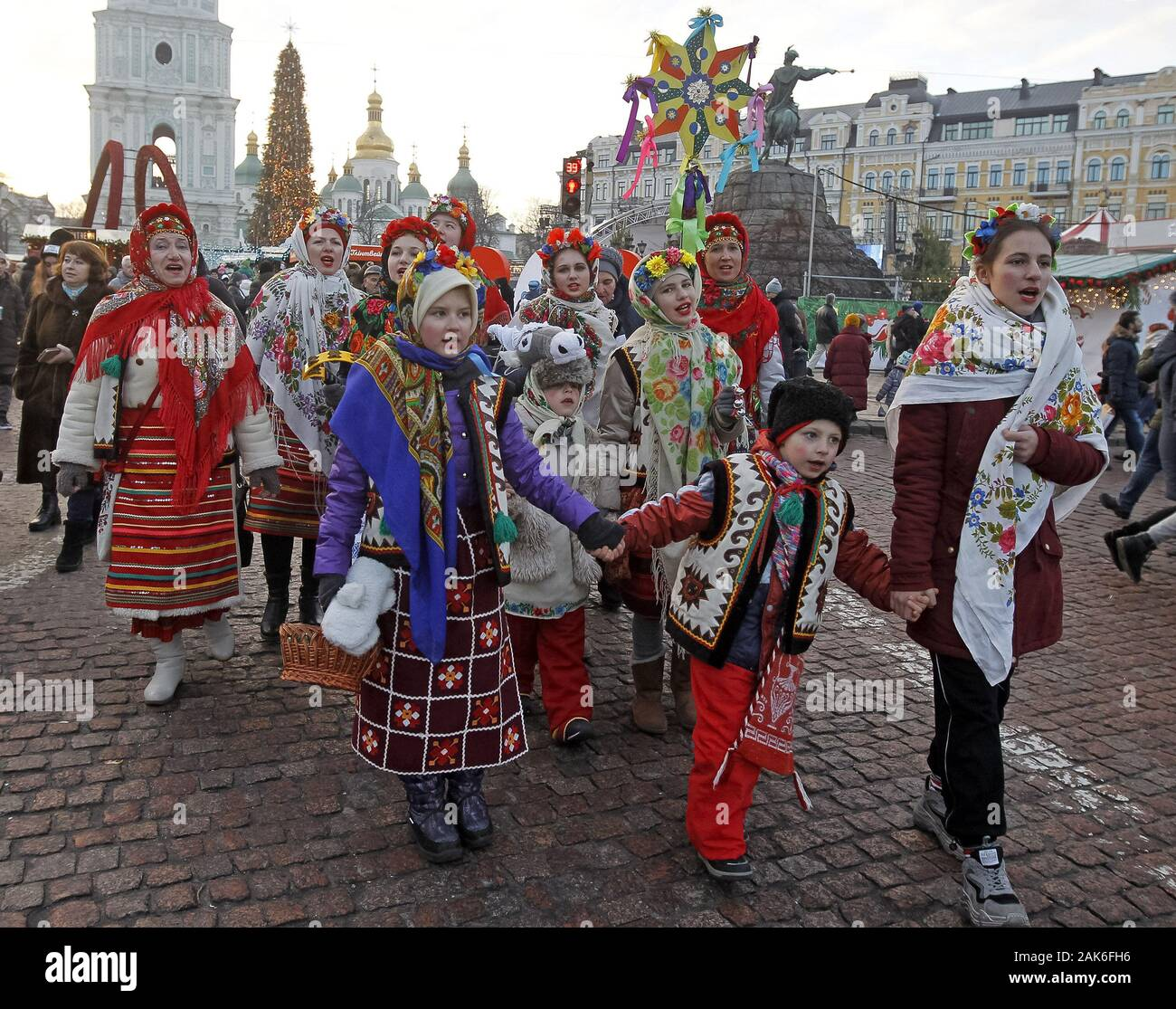 When does ukraine celebrate christmas