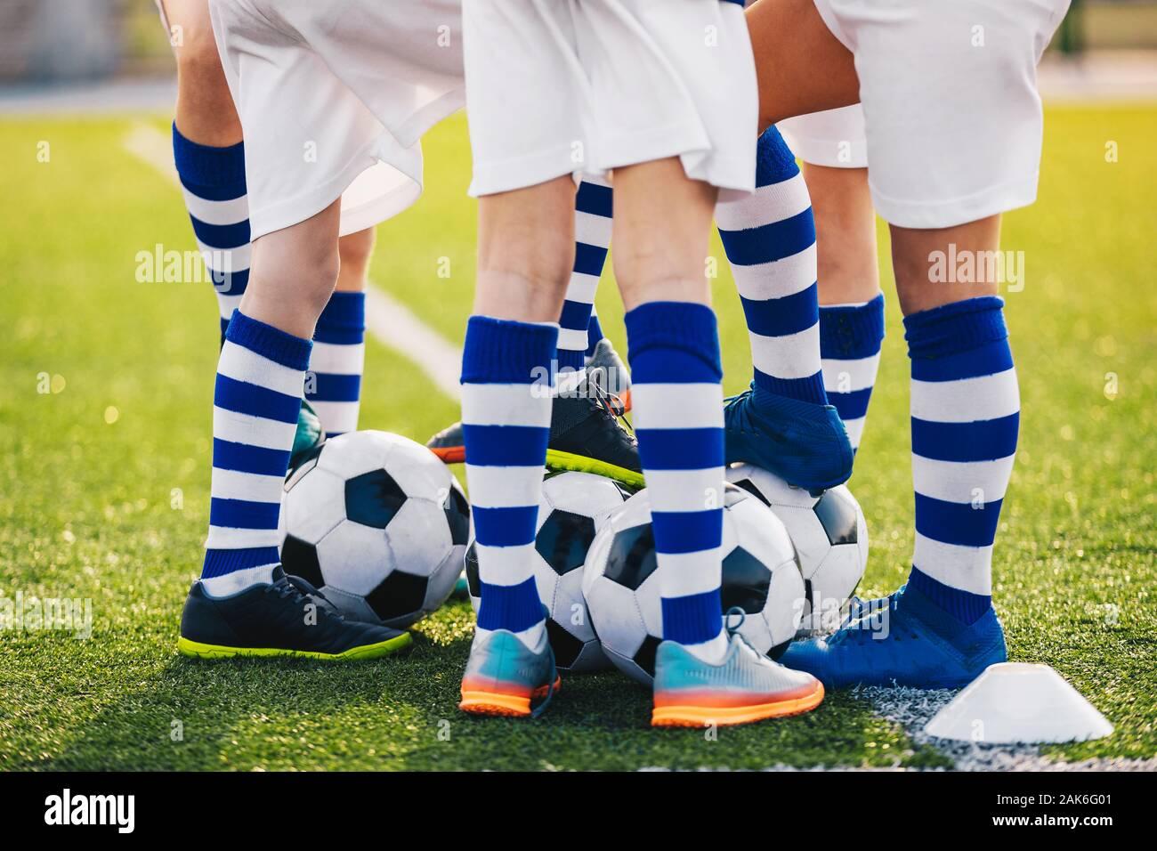 Baby Boys Size 5-6 1-2 years Country Kids Denim Soccer Goal Socks