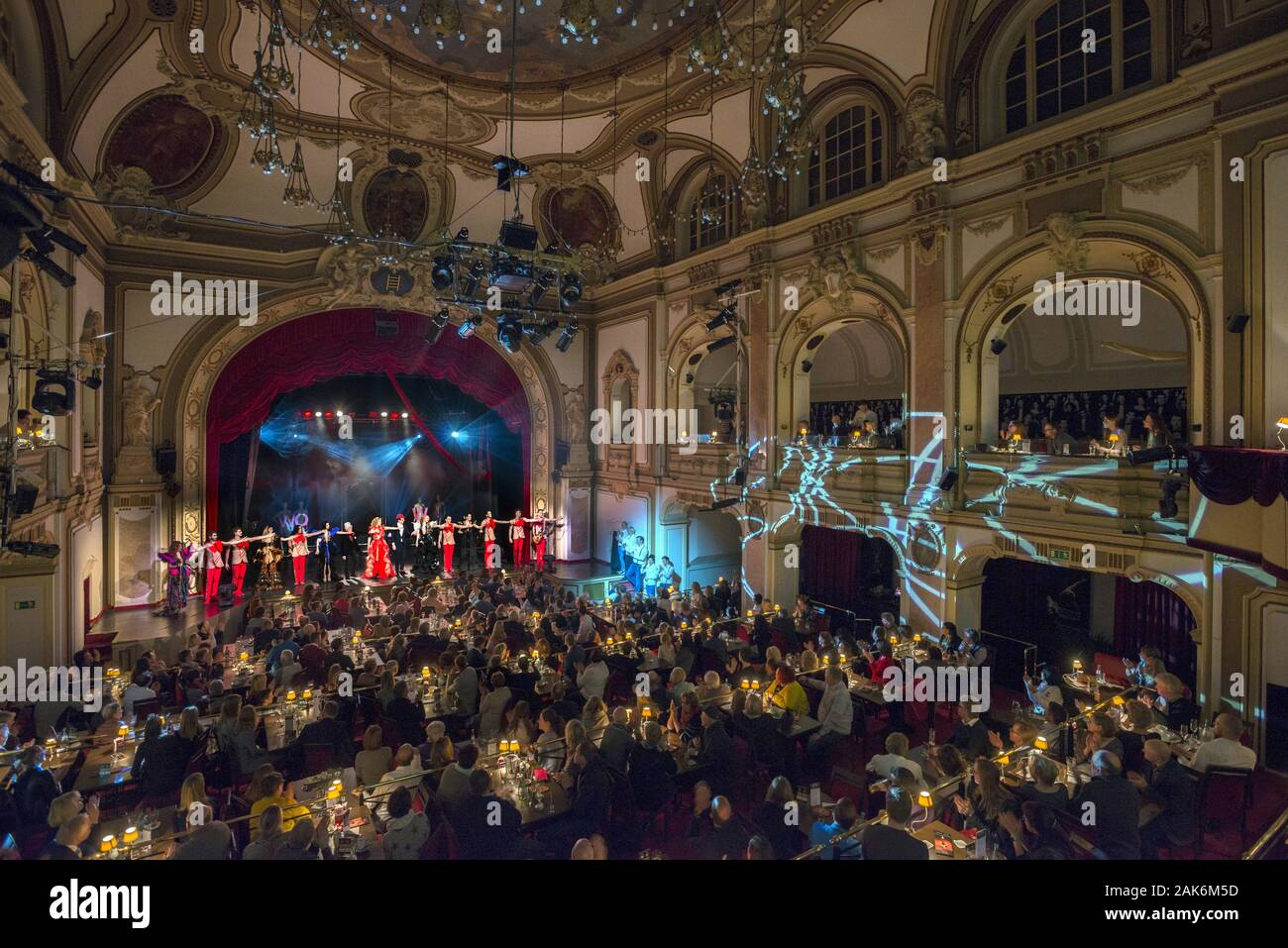 Bad Oeynhausen: GOP Variete-Theater im Kaiserpalais, Teutoburger Wald | usage worldwide Stock Photo