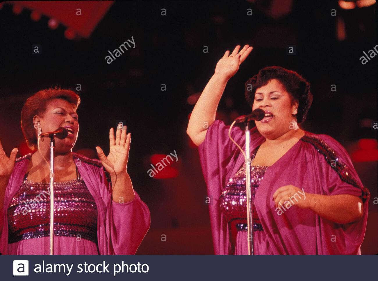 The Weather Girls Izora Armstead and Martha Wash. 1983 Credit ...