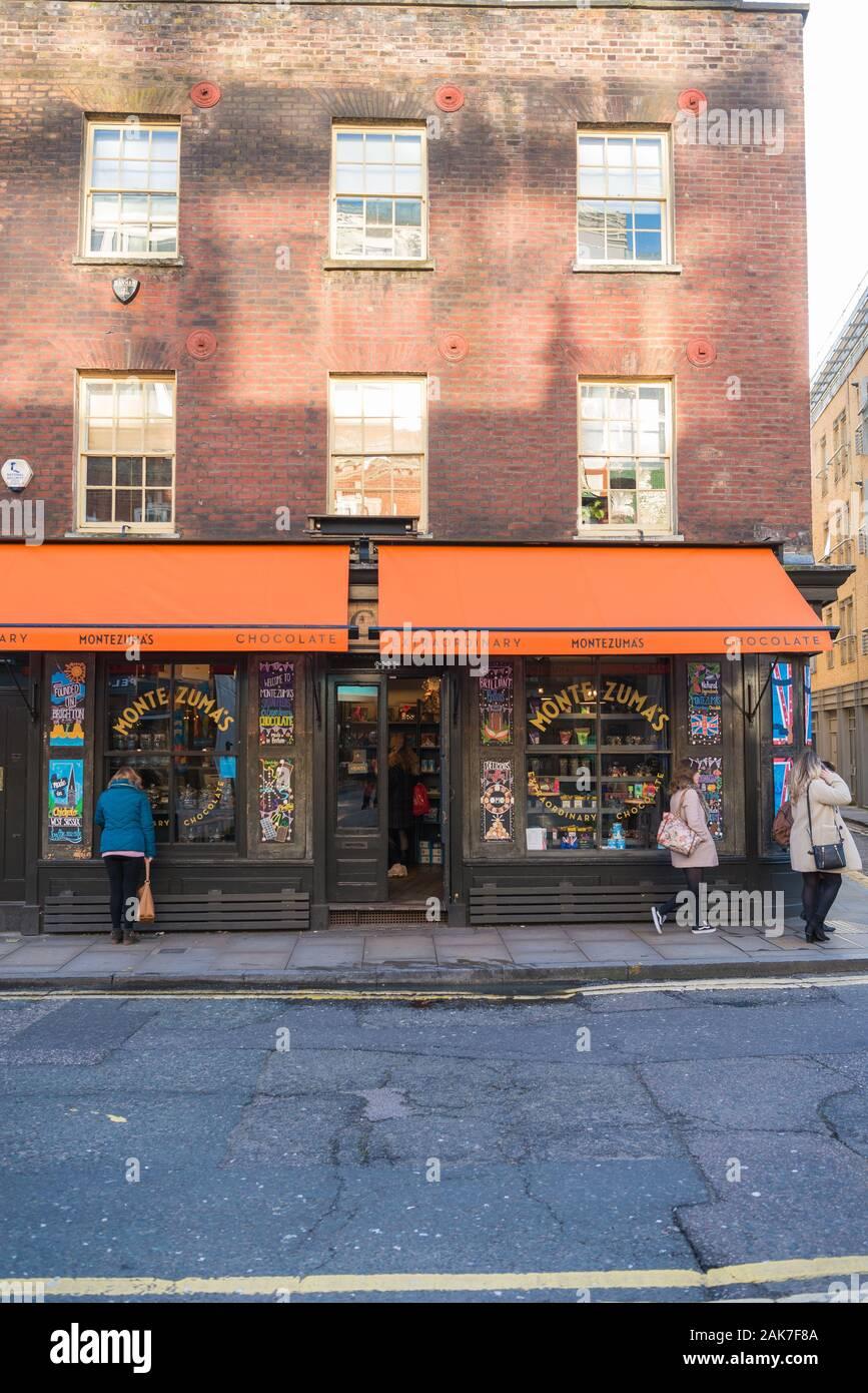 Montezumas Chocolate And Confectionery Shop Brushfield