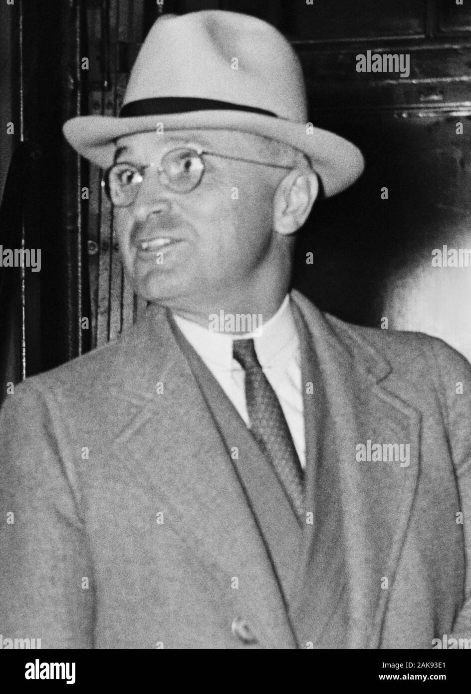 Harry Truman Photograph Vintage Photo from 1945