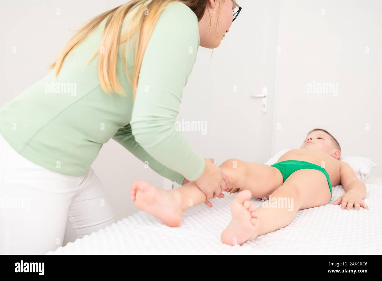 Girls Massaging Boys