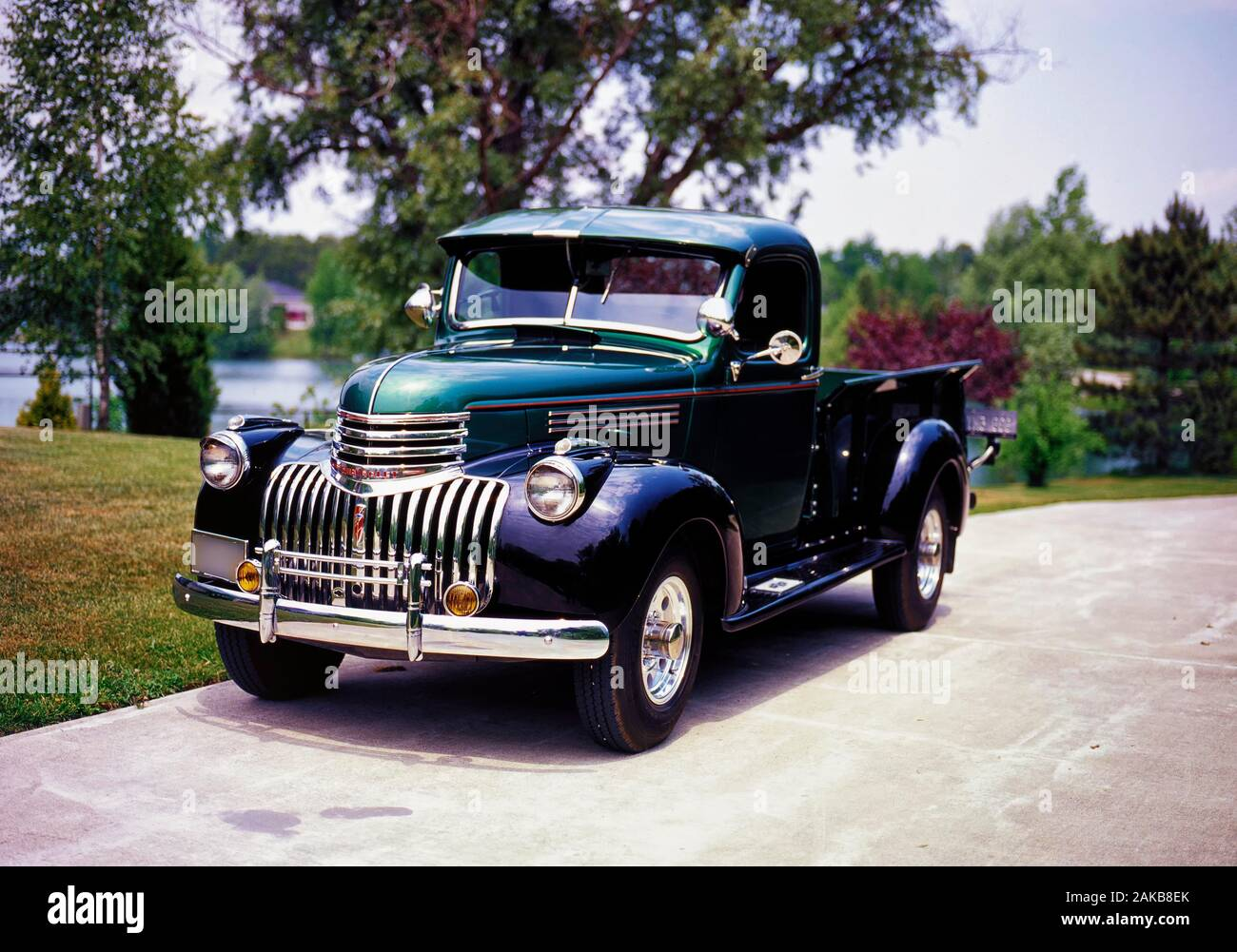 1946 Chevrolet 3/4 ton pickup truck Stock Photo