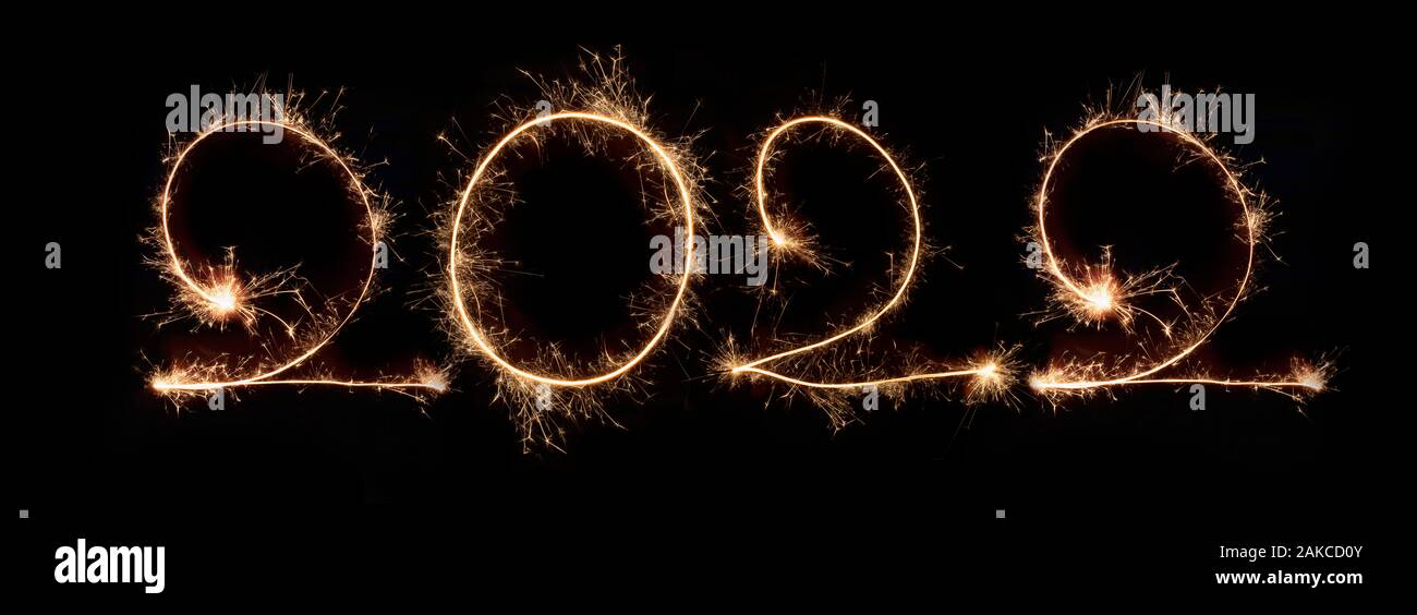 Happy New Year 2022 High Resolution Stock Photography And Images Alamy