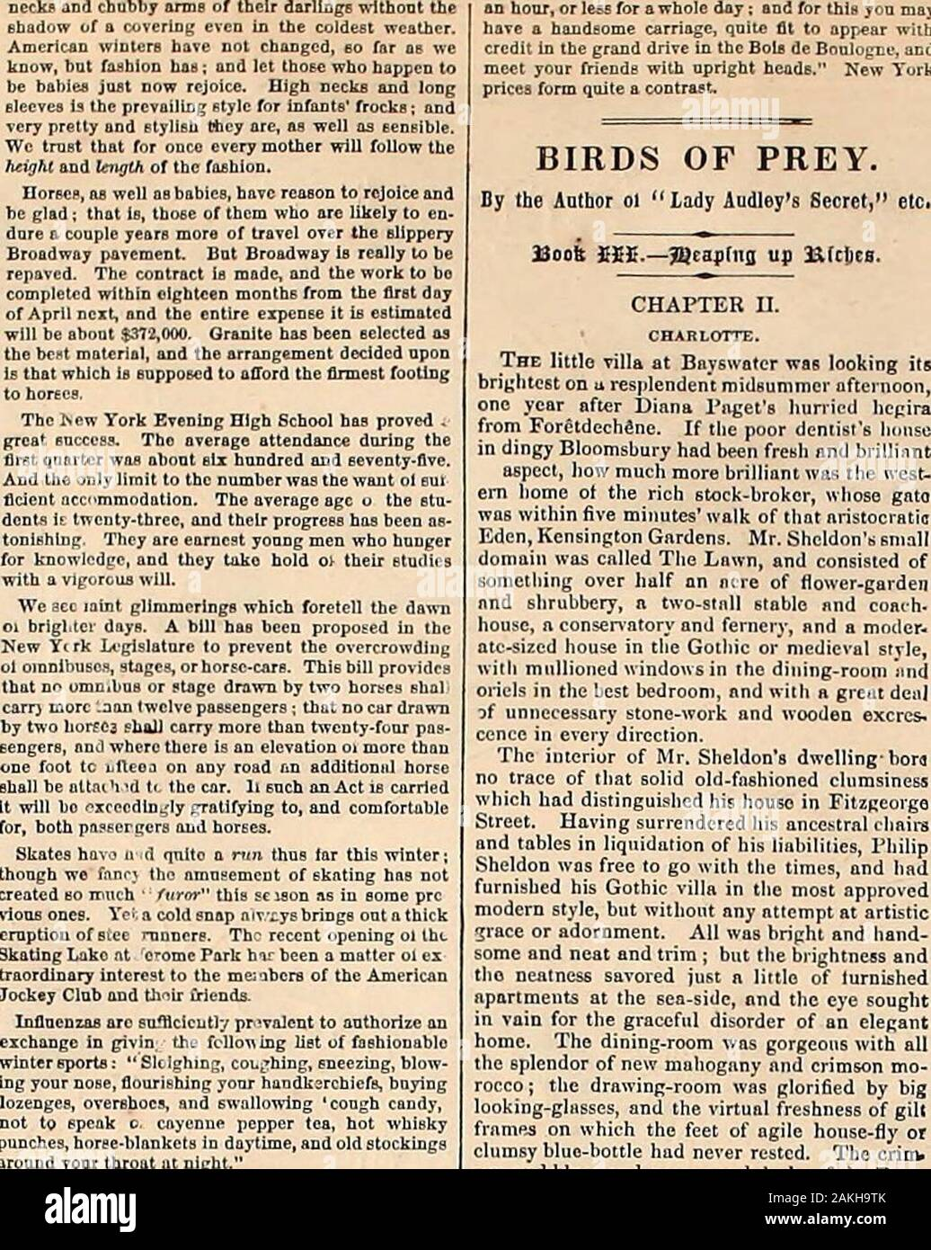 Harper's weekly . INT THE METROPOLTS.- cnED ux W. S. L. Jewett—[See Page 51.] riAi;ii:j;s wf.f.u.y. [January 26, 1867. THE COQUETTE OF AELON. ;?;,;:,: In Ihc projected comedy, he rflic coquette, finding him bo ? ?nr-Hy, UUrJjr had takei e apparition held a lighted ,.- lucky lbi.1 il «:r, ..f hlu] .V.nc..r ? il i-lli/ht c.Hi.L-ti ii<iw g( up Id MViiCir-I li.- mr-c/c.I twice. N.il In-ill^ :iUle to I lii.n.iru. .-:ir>. CBlasdlslill^ll^he.ll.ii.^.-lfiin.l.T th-.e trvih_- n 1 ^i*.-J I ;, n I ) 11DMK ,M> rni;j;i,; , ?vhich she ventures are uncomfortably crowd-. -lil..iii] ->!>.> Stock Photo