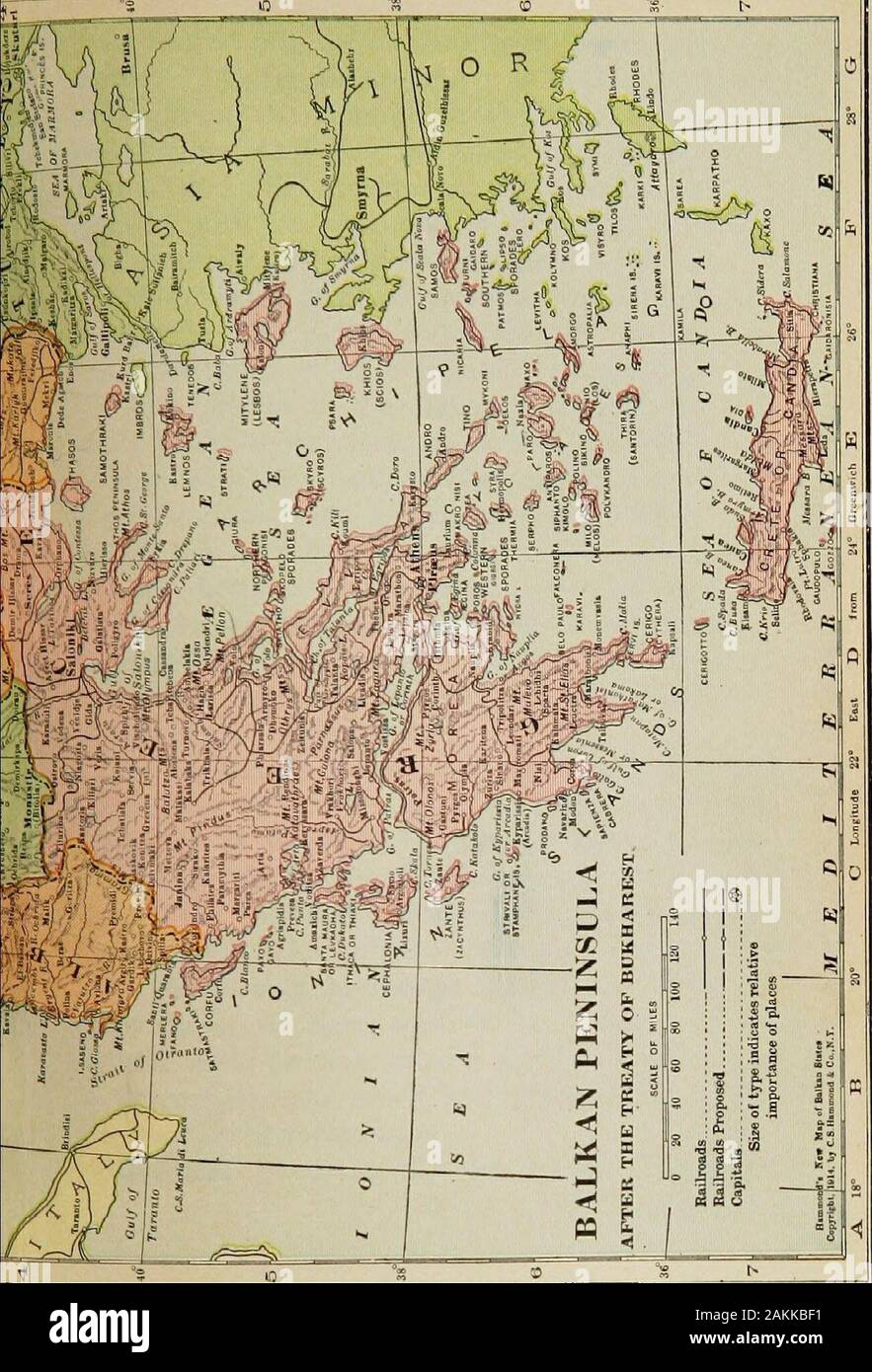 Picture of: The New Map Of Europe 1911 1914 The Story Of The Recent European Diplomatic Crises