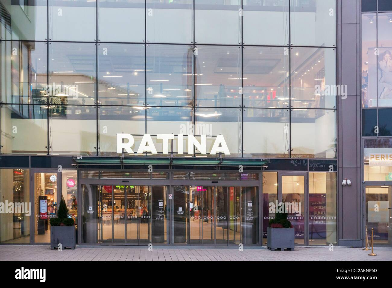 Ratina Shopping Mall in Tampere Finland Stock Photo
