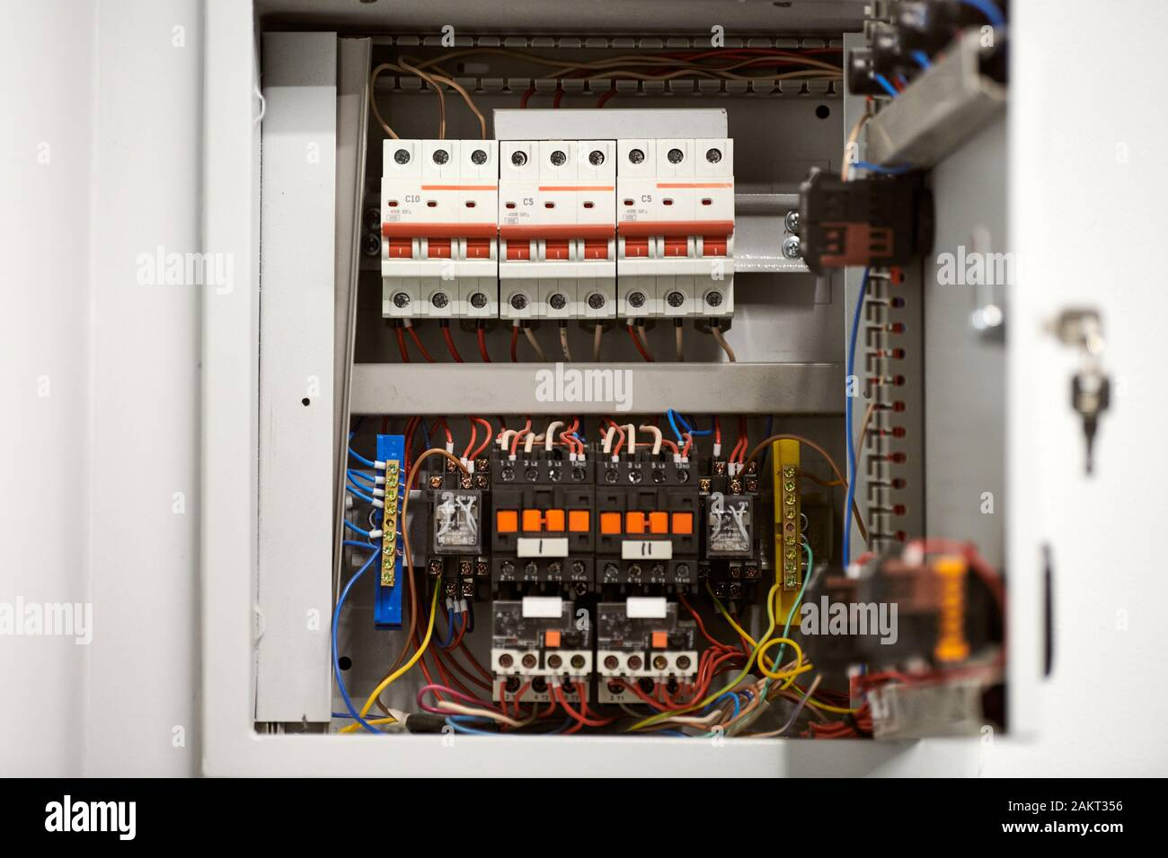 Electrical Distribution Board High Resolution Stock Photography And Images Alamy
