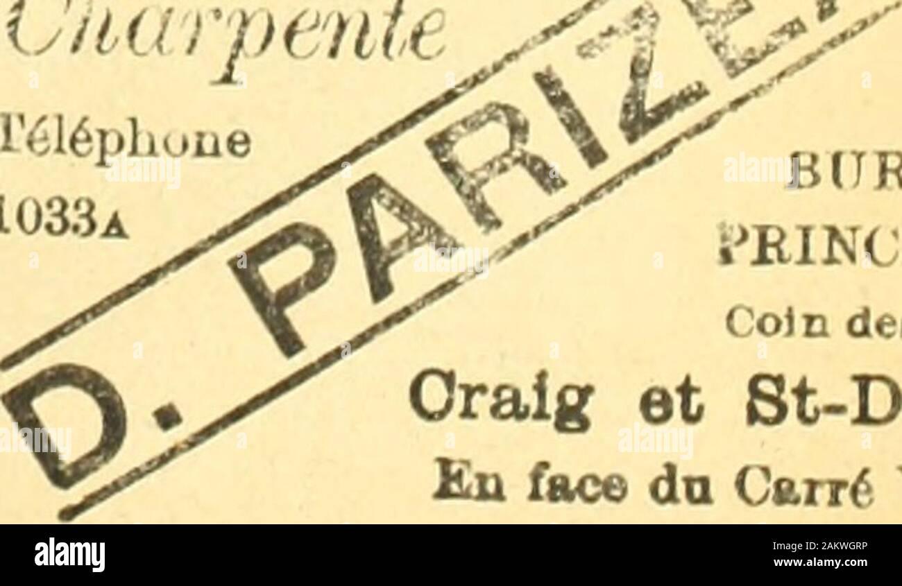 Le quincaillier (Septembre 1888-Aout 1889) . 16phuue1033a << x. B (7 READPRINCIPALCoin des Bum Oraig et St-DenkEn face do Cantf Vig« 14 LE PRIX COURANT NOS PRIX COURANTS METAIX. II 1!. 0 27 ii 240 25 0 War Hi Barres 1 lilies De chasse Tuyau par 100 lbs /inc. : Lingots, Spelter par lb Feuilles, No. 8 A*- r : A ressort par 100 lbs A lisse ajnericain A bandage A pince bun.In par lt> Poule, ordinaire De iinianicicii Pontes: p. ton. Biemens Coltness Calder Langloan Sumine ee Garteberrie Glengarnock Carnbroe Eglinton Shotts Fit en barres : Ordinaire par 100 lbs Affine De Suede De Norvege Lo Stock Photo