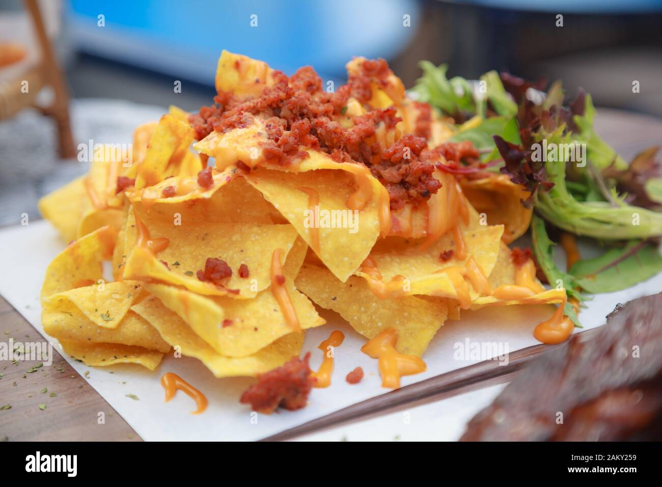 Mexican Crispy Crunchy Tortilla Chips Snack Food Made From Corn Tortillas Which Are Cut Into Triangles And Then Fried Or Baked Food Travel Tourism Stock Photo Alamy
