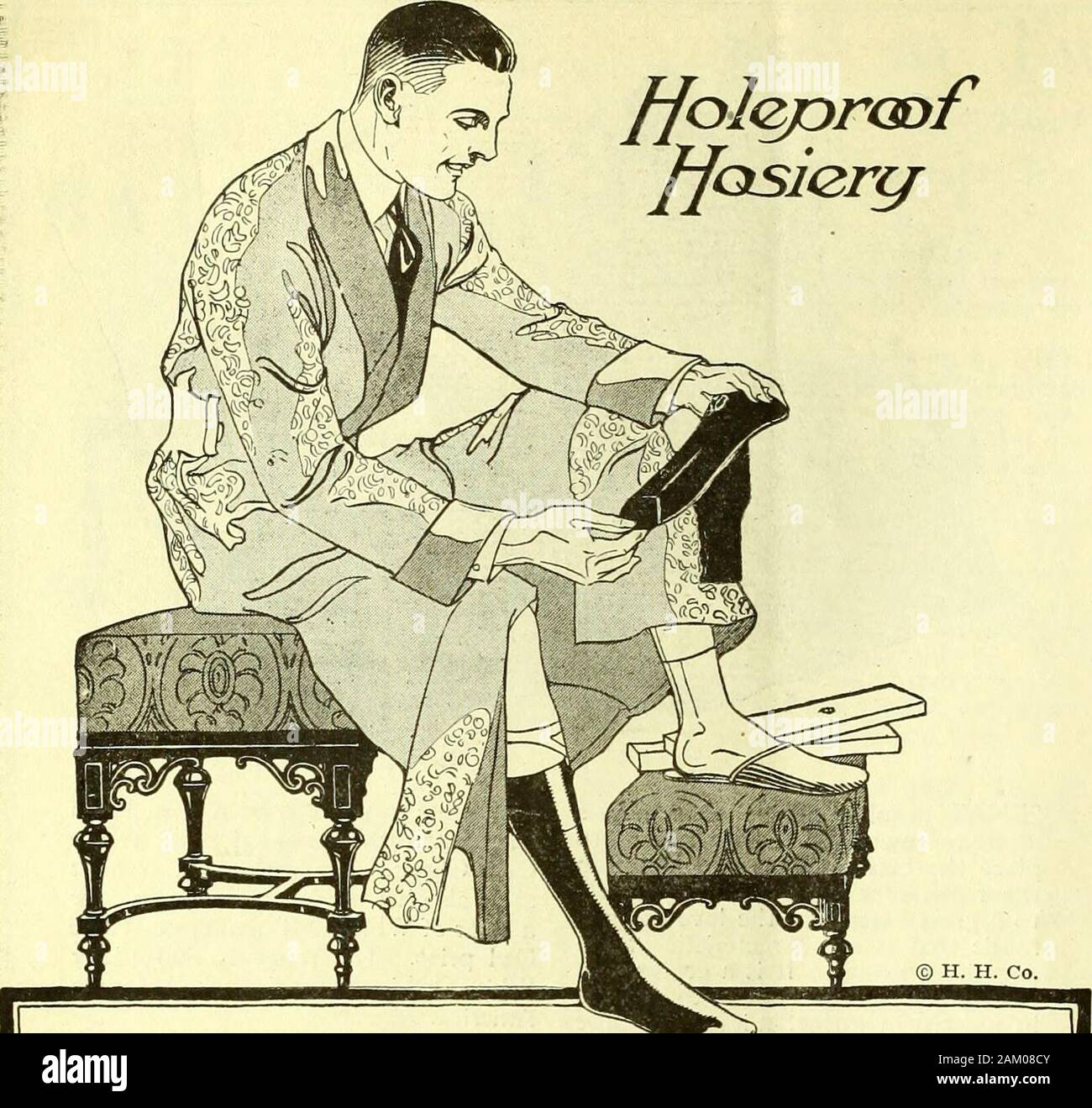 The American Legion Weekly [Volume 4, No10 (March 10, 1922)] . PAGE 18 THE AMERICAN LEGION WEEKLY ffoslercj. Holeproof—thats the word to say when you ^=«<=»— want hosiery thatstands hard wear, doesnt cost much, and looks twice its price in action.In Silk, Silk-Faced and Lusterixed Lisle.HOLEPROOF HOSIERY COMPANY, Milwaukee, Wisconsin Holeproof Hosiery Company of Canada, Limited, London, Ontario Stock Photo